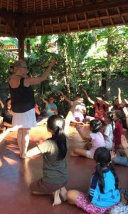 Teaching the Mandala movements