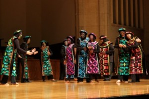 "Trinity Movement Choir (NYC) performing ""Reconciliation"" at Festival 2012."