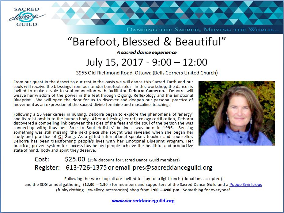 Barefoot, Blessed & Beautiful - AGM - Swirlicious - July 15th
