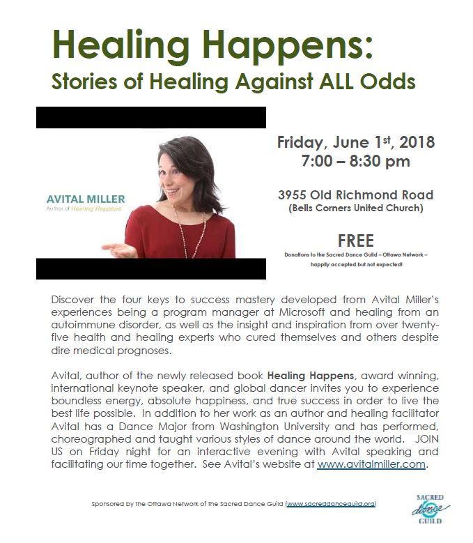 Healing Happens - June 1, 2018