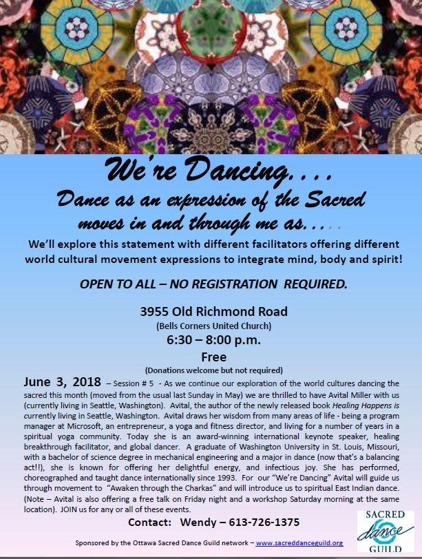 We're Dancing - June 2018