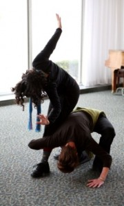 Contact improv explores our sacred relationships with each other.