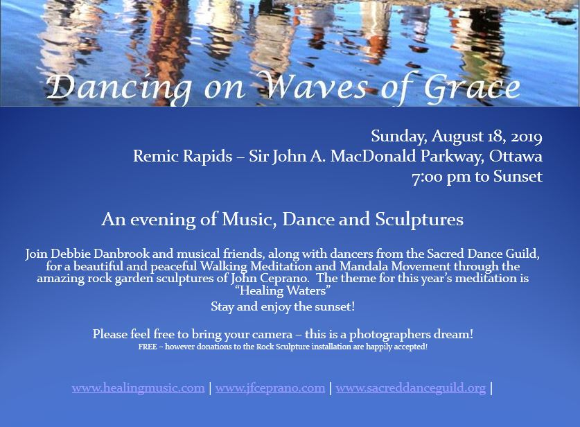 Dancing on Waves of Grace - Aug 18-19